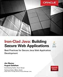 Ironclad Java Building Secure Web Applications Oracle Press