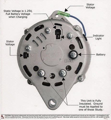 Iskra 3 Wire Alternator Wiring Diagram