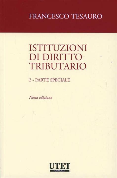 Istituzioni Di Diritto Tributario Parte Speciale 2 (ePUB/PDF)