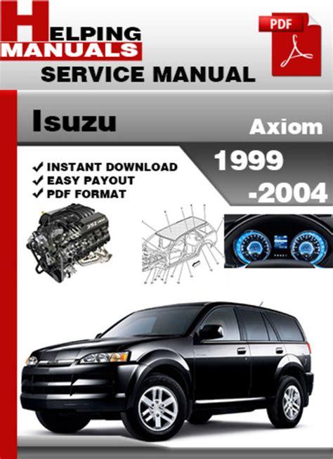 Isuzu Axiom Manual (ePUB/PDF)