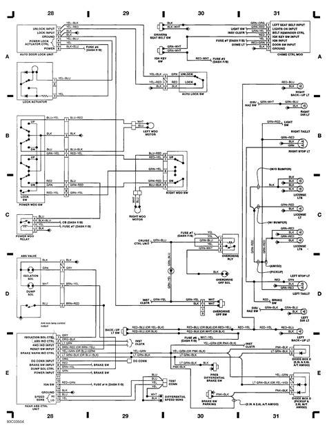 Isuzu Box Truck Lights Wiring Diagram on
