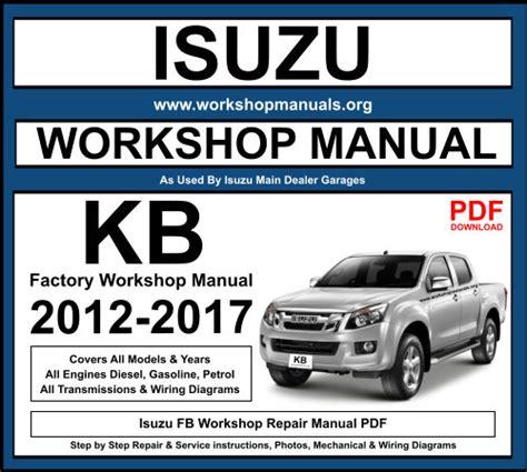 Isuzu Kb Workshop Manual (ePUB/PDF)