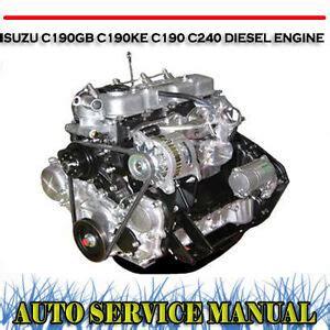 Isuzu C190 Engine Repair Manual - blog.ab.ead.faveni.edu.br