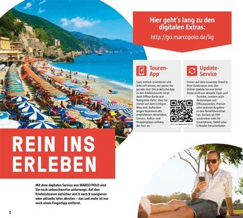 Italienische Riviera Marco Polo Reisefuhrer Mit Insider Tips (ePUB ...