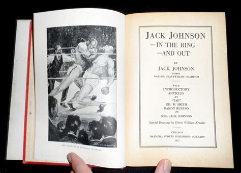Jack Johnson In The Ring And Out English Edition