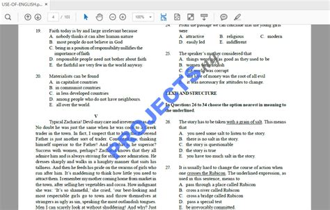 Jamb Past Question And Answers (ePUB/PDF)