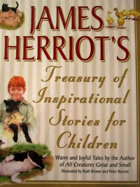 James Herriots Treasury Of Inspirational Stories For Children Warm ...