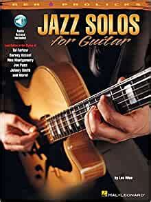 Jazz Solos For Guitar Reh Pro Licks Bk Online Audio