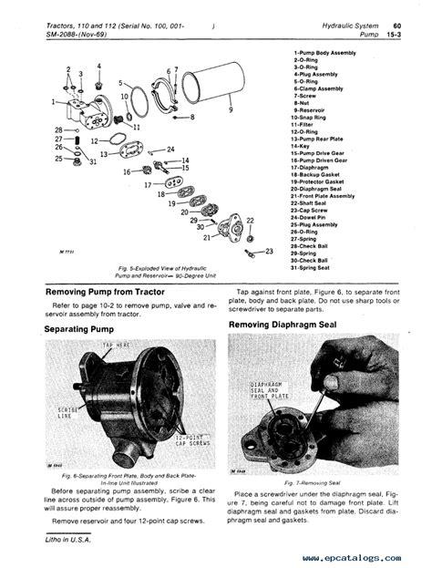John Deere 112 Repair Manual (ePUB/PDF)