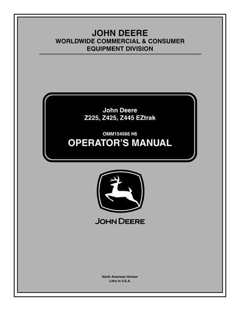 John Deere Manuals (ePUB/PDF)