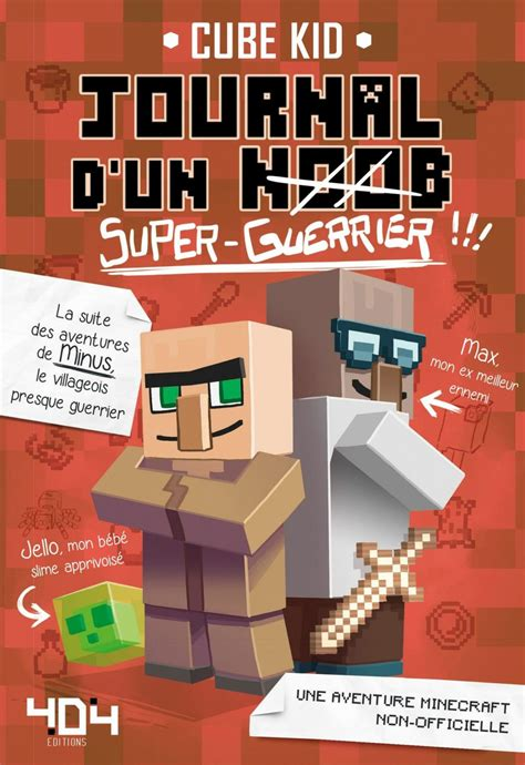 Journal Dun Noob Super Guerrier Tome 2 Minecraft 2