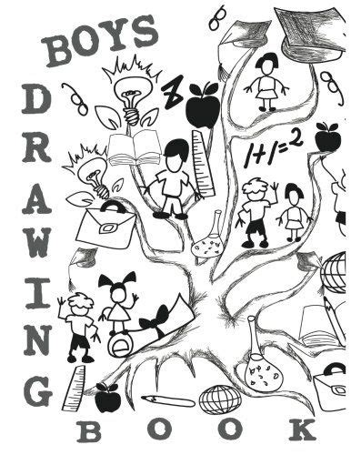 Journals For Boys To Draw In 85 X 11 120 Unlined Blank Pages For Unguided Doodling Drawing Sketching Writing