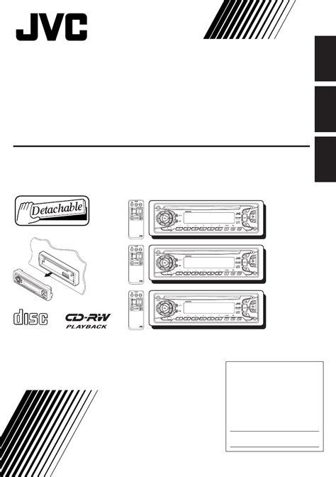 Jvc Car Audio Operation Manual (ePUB/PDF)