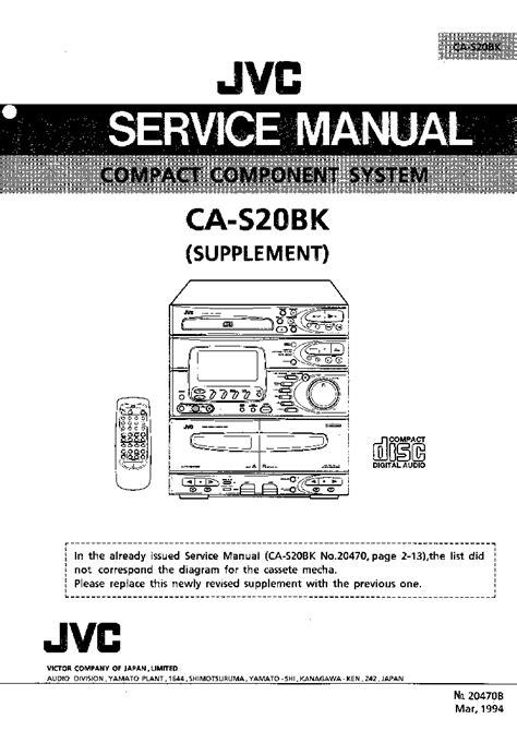 Jvc Parts Manual (ePUB/PDF) Free