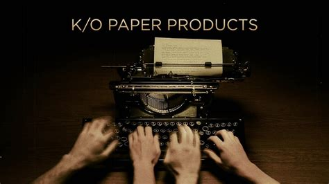 K/O Paper Products
