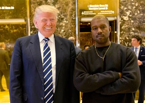 Kanye West Meets With Donald Trump In Trump Tower