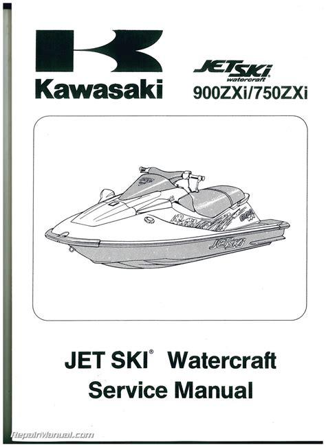 Kawasaki 750 Jetski Owners Manual (ePUB/PDF)