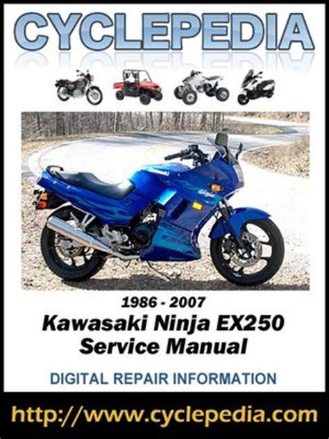 Kawasaki Ex250 Manual Epubpdf