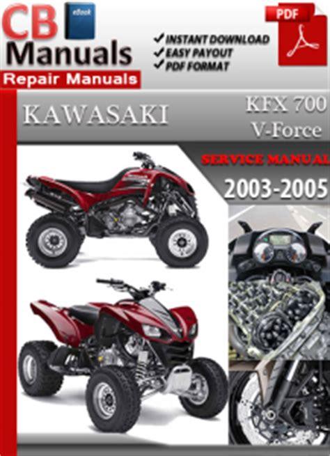 Kawasaki Kxf700 2003 Repair Service Manual Pdf (ePUB/PDF)