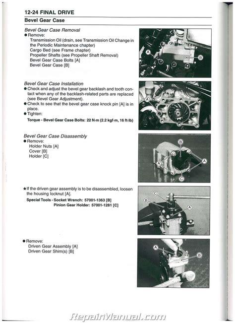 Kawasaki Manual Parts (ePUB/PDF)