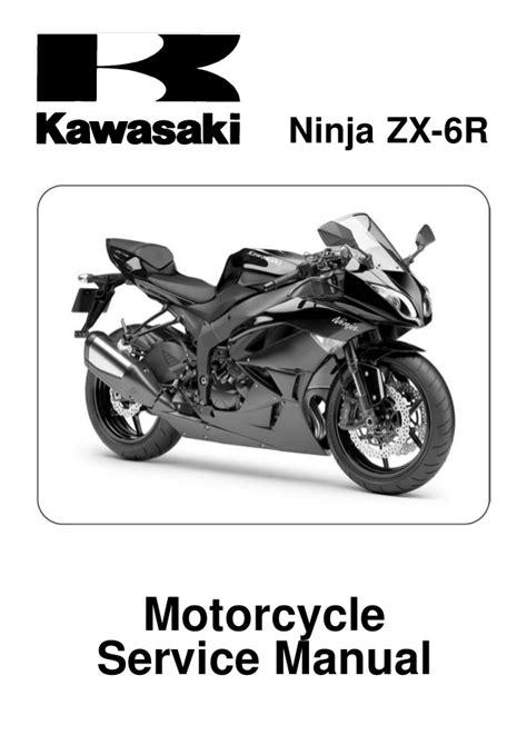 Kawasaki Zx600r9f Complete Workshop Repair Manual 2009 2011 (ePUB/PDF)