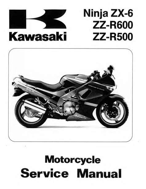 Kawasaki Zzr 600 Service Manuals Free ePUB/PDF