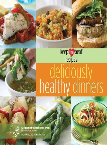 Keep The Beat Recipes Deliciously Healthy Dinners