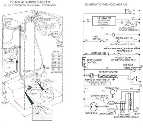 kenmore freezer compressor wiring diagram