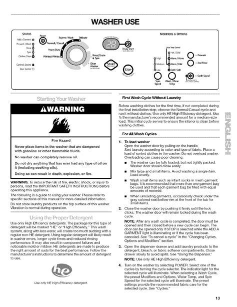Kenmore He2 Repair Manual (ePUB/PDF)