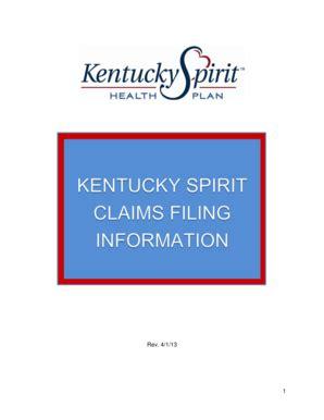 Kentucky Spirit Billing Manual (ePUB/PDF)
