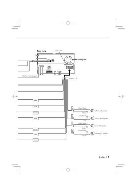 kenwood ddx512 wiring diagram