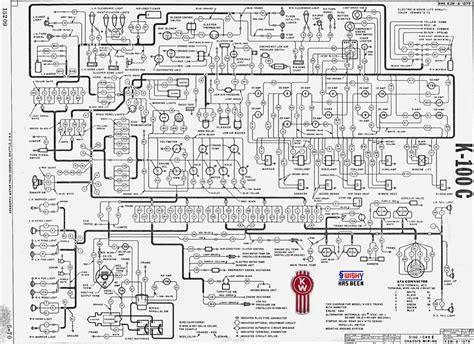 kenworth k100 wiring diagram
