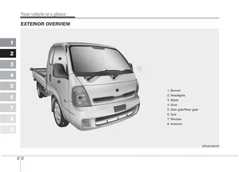 Kia K2500 Users Manual (ePUB/PDF) Free