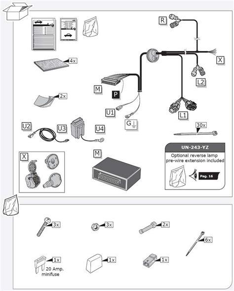 Kia Sportage Tow Bar Wiring Diagram on