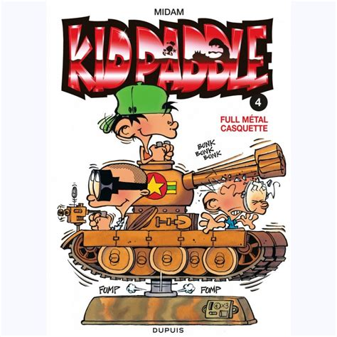 Kid Paddle Tome 4 Full Metal Casquette