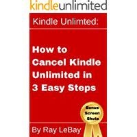 Kindle Unlimited How To Cancel Kindle Unlimited In 3 Easy Steps Help Series Book 1 English Edition