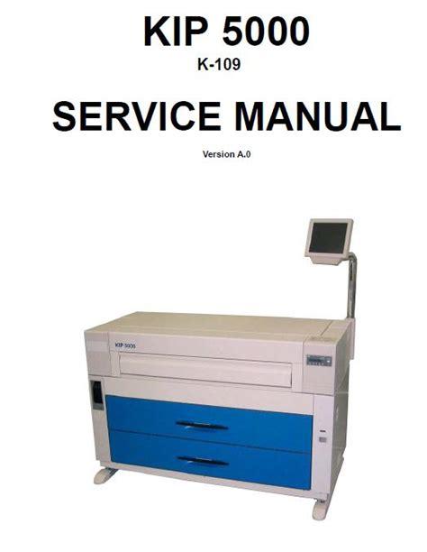 Kip 5000 Service Manual (ePUB/PDF)