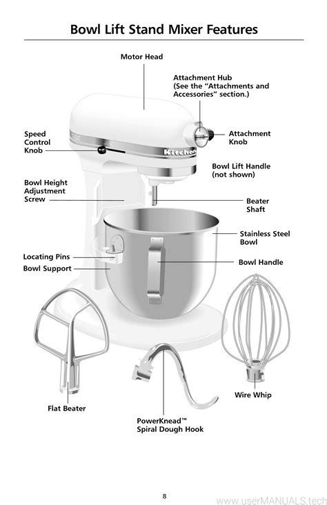 Kitchenaid Mixer Instruction Manual (ePUB/PDF)