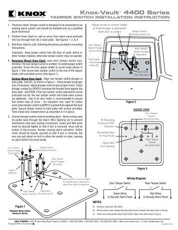 knox box wiring diagram