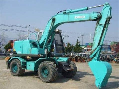 Kobelco Sk100w 2 Wheel Excavator Service Repair Workshop Manual