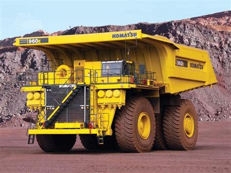 Komatsu 960e 1 Dump Truck Service Repair Workshop Manual Sn A30003