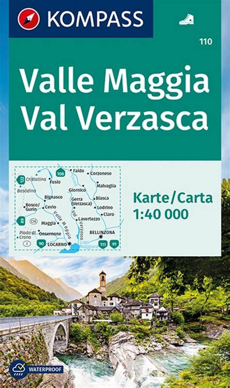 Best Books Kompass Wanderkarte Valle Maggia Val Verzasca