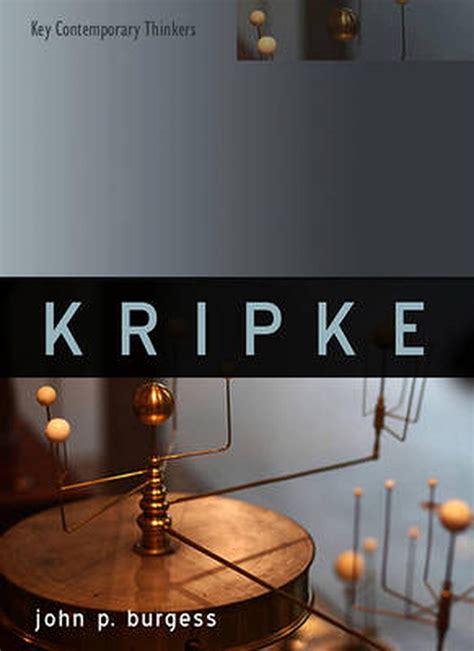 Kripke Burgess John P (ePUB/PDF)