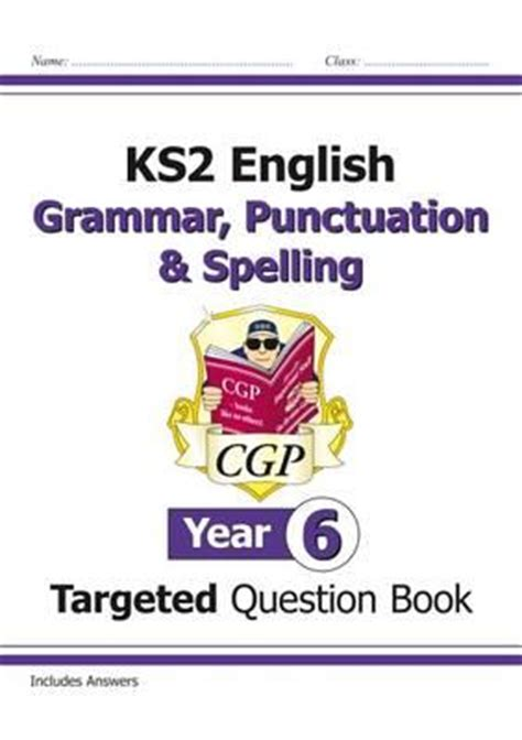 Ks2 English Targeted Question Book Grammar Punctuation And Spelling Year 3