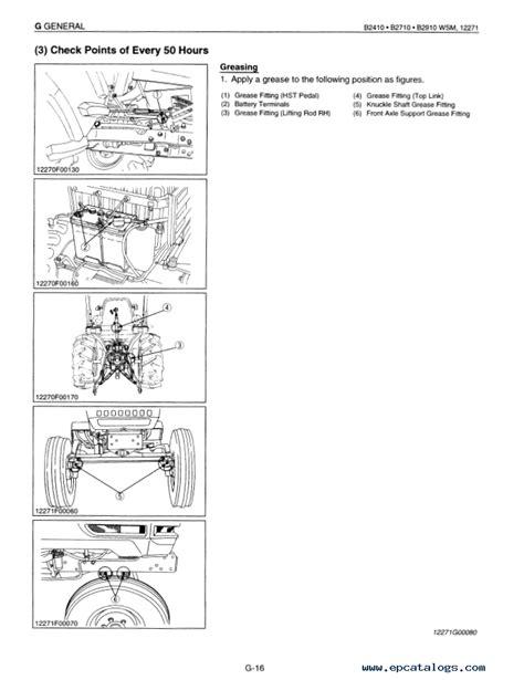 Kubota B2410 Hsd Tractor Parts Manual Illustrated List Ipl (ePUB/PDF)