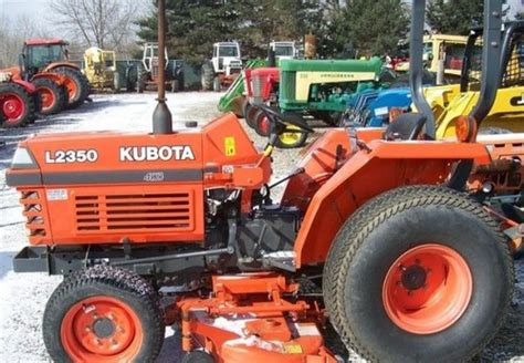 Kubota L2350dt Tractor Illustrated Master Parts Manual Instant ...