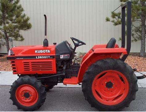 kubota l2600dt tractor illustrated master parts list manual