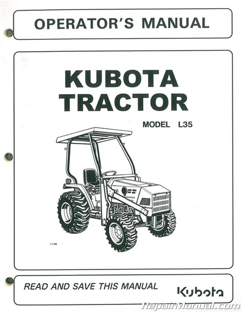 Kubota L35 Tractor Parts Manual Guide (Free ePUB/PDF)