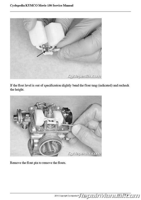 Kymco Movie 150 Service Manual (ePUB/PDF)