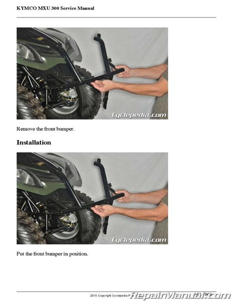 Kymco Mxu 300 Service Manual Pdf (ePUB/PDF)